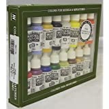 70140 Model Colour Basic Colors USA 16 Colour Acrylic Paint Set