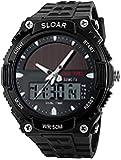 ソーラー腕時計 メンズ デジアナウォッチ スポーツ 人気ブランド おしゃれ ファション クロノグラフ アラーム時報 バッ…
