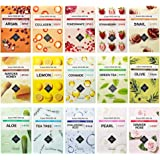 ETUDE HOUSE 0.2mm Therapy Air Mask Combo Pack (15pcs) | Korean Masks | Light and Comfortable Like the Air | Hypo-Allergenic M