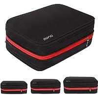 [Amazonブランド] Eono(イオーノ)圧縮バッグ 圧縮袋 トラベルポーチ ファスナー圧縮 防水素材 乾湿分離 衣…