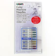 レオニス カラーミシン針セット(9号×2本/11号×4本/14号×2本/16号×2本)