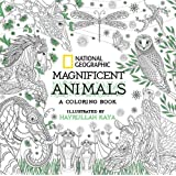 NG Magnificent Animals: A Coloring Book