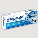 Kathmandu Aquatabs Water Purification Camping Travelling Tablets 50 Pills Unisex