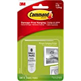 Command Picture Hanging Strips, Small, White, 8-Pairs (17205-ES)