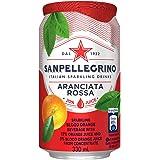 サンペレグリノ アランチアータロッサ ブラッドオレンジ 1ケース(330ml×24缶) [並行輸入品]