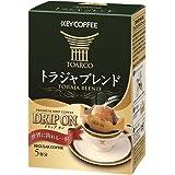 キーコーヒー DRIP ON (ドリップオン) トラジャブレンド 5杯分×5個