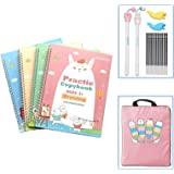 Upgraded Large Size Magic Practice Copybook for Kids, Reusable Handwriting Practice Workbook, Resusable Copybook Preschool fo