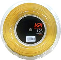 ケーピーアイ(KPI) 硬式テニスガット KPIPROTOUR1.23(KPIプロツアー1.23) 200mロール KPI123 ブラック