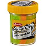 Berkley PowerBait Glitter Trout Bait, Rainbow, 1.75 Ounces