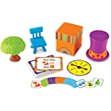 Learning Resources LER3201 Fox in a Box - Position Word Activity Set,Multicolor