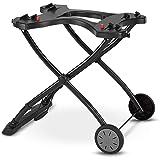 "Weber 6557 Q Portable Cart, 28.2"" x 21"" x 25"", Black"
