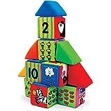 Melissa & Doug 9167 K's Kids Match and Build Soft Blocks Set