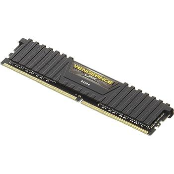 CORSAIR DDR4 デスクトップPC用 メモリモジュール VENGEANCE LPX Series 8GB×1枚キット CMK8GX4M1A2666C16