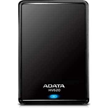 ADATA HV620 USB3.0 TV録画対応 2.5インチポータブルHDD 2TB ブラック AHV620-2TU3-CBK