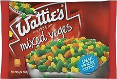 Watties Mixed Vegetables, 500g - Frozen