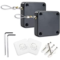 ドアクローザー 自動ドアクローザー 貼り付け ネジ 兼用 穴付き 引き戸 クローザー 扉 玄関 室内用 取替え用 ミニド…