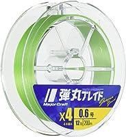 メジャークラフト PEライン 弾丸ブレイド 4本編み 200m