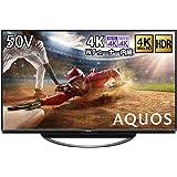 シャープ 50V型 4Kチューナー内蔵 液晶 テレビ AQUOS 4T-C50AN1 スマートテレビ(Android T…