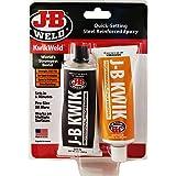 J-B Weld 8271 KwikWeld Professional Size Steel Reinforced Epoxy Twin Pack - 10 oz.