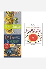 Skinnytaste cookbook [hardcover], hidden healing powers of super & whole foods and tasty & healthy 3 books collection set Paperback