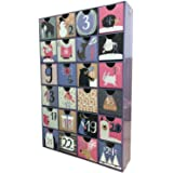 クリスマスカウントダウンカレンダー、2020年を埋めるためのアドベントカレンダーボックス、装飾的なかわいいアドベントボックス、休日の装飾とギフトのためのカレンダーギフトケース