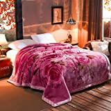 Blanket Lahore Thick Warm and Comfortable Quilt Soft Winter Blanket Double 200X230Cm [Weight 3.3Kg]