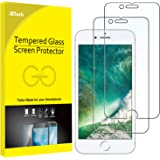 JETech Screen Protector for iPhone 8 Plus and iPhone 7 Plus, 5.5-Inch, Tempered Glass Film, 2-Pack