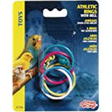 Living World Olympic Rings with Bell Bird Toy
