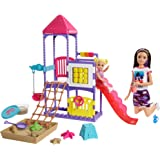 Barbie GHV89 Skipper Babysitters, Inc. Climb 'N Explore Playground Dolls And Playset