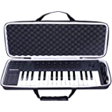 LTGEM EVA Hard Case for Native Instruments Komplete Kontrol M32 Controller Keyboard-Travel Protective Carrying Storage Bag