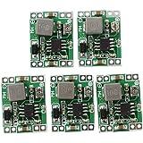 SODIAL(R) 5件ミニDC-DCコンバータステップダウンモジュール調整可能電源出力0.8-20V