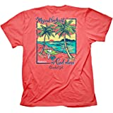 Cherished Girl Womens T-Shirt My Soul Finds Rest - Coral Silk -