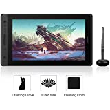 Huion Kamvas Pro 16 Drawing Monitor Pen Display 15.6 Inch IPS Graphic Tablets with Screen, Full-Laminated Technology, Battery