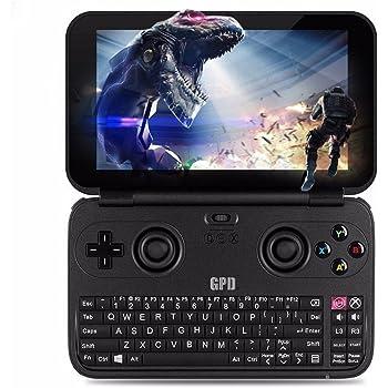 GPD WIN 黒 + USB microSDカードリーダー付き (Windows10 /5.5inch /IPS液晶 /Intel Atom X7 Z8700) (4GB/64GB)(USB Type-C /USB3.0 /HDMI /Bluetooth4.1) (タッチパネル /Gorilla Glass 3 /Gamepad Tablet PC /UMPC) (ブラック) [正規輸入品] (4GB/64GB 黒)