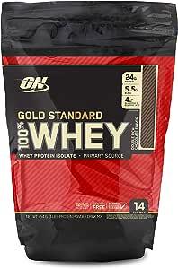 Gold Standard 100% ホエイ プロテイン ダブルリッチチョコレート 454g (1lbs) [米国メーカー正規品] [海外直送品]