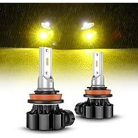 SEALIGHT フォグランプ LED H8 H11 H16 バルブ イエローフォグ黄色 車検対応 12V 1500LM…