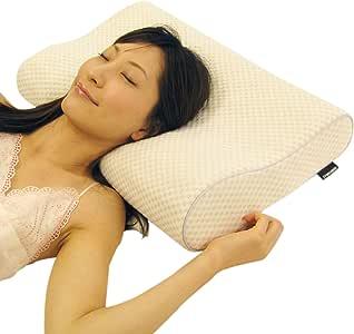 フランスベッド共同開発 低反発枕 緑茶配合 洗える枕カバー付(硬さ:ソフト) ホワイト RFP-002