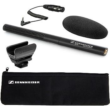 Sennheiser mke-600ShotgunビデオカメラマイクPlus Sennheiser ka600アダプタケーブル