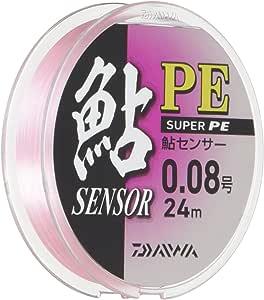 ダイワ(Daiwa) PEライン 鮎センサー 24m 0.08号 ピンク