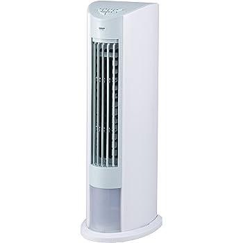 山善 冷風扇 (押しボタンスイッチ)(風量3段階) ホワイトブルー FCT-D404(WA)