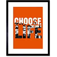 Quote Choose Life Scotland Trainspotting Edinburgh Framed Wa…