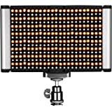 Neewer LED Video Light - Dimmable Bi-Color LED Panel with Standard Cold Shoe for DSLR Cameras,280 LED Beads,3200-5600K,CRI 95