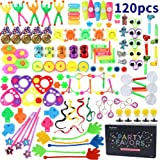 Amy&Benton 120PCS Kids Party Favours Toys Loot Bag Fillers Birthday Gift Pinata Fillers Children Carnival Prizes School Rewar