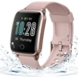 Smart Watch for Women Men, Waterproof Fitness Tracker with 11 Sports Modes, Heart Rate and Sleep Monitor for Android Phones a
