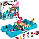 LEGO Disney Ariel's Storybook Adventures 43176 Creative Little Mermaid Building Kit