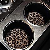 lifeegrn Car Coasters, Car Cup Holder Coasters, 2.76 Inches Car Coasters for Cup Holders, Anti Slip Removable Universal Neopr