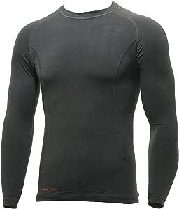 DESCENT(デサント) メンズ ヒートナビシャツ/長袖 HTN-1003 DGYダークグレー