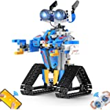 Henoda Robot Toys for 8-16 Year Old Boys Girls, Robot for Kids with APP or Remote Control Science Programmable Building Block