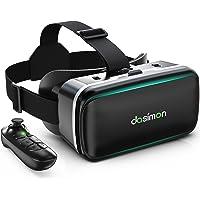 [Dasimon VRゴーグル] VRヘッドセット VRヘッドマウントディスプレイ スマホ用VRゴーグル Bluetoo…