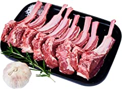 Hego Canterbury Chilled Frenched Spring Lamb Rack Chop, 500 g